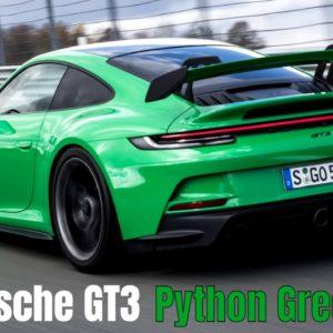 New Porsche 911 GT3 PDK in Python Green
