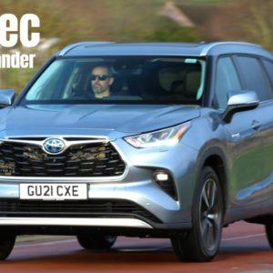 New Toyota Highlander UK Spec 2021