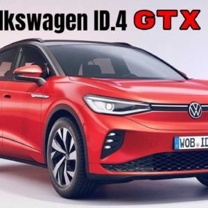New VW ID.4 GTX Electric AWD Exterior and Interior Design - Volkswagen