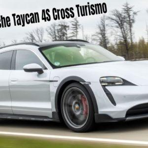 Porsche Taycan 4S Cross Turismo in Ice Grey