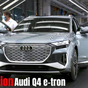 Production of the Audi Q4 e-tron