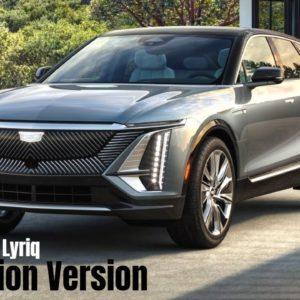 Production Version 2023 Cadillac Lyriq Design and Testing