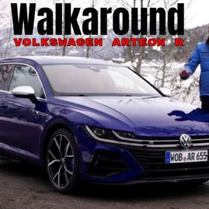 Volkswagen Arteon R and Arteon R Shooting Brake Walkaround