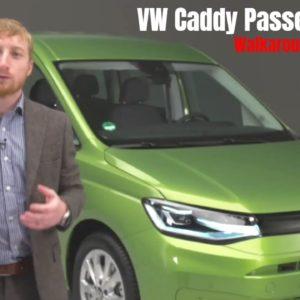 Volkswagen Caddy Passenger Van Walkaround 2021