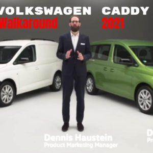 Volkswagen Caddy Van Walkaround 2021
