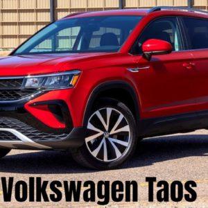 Volkswagen Taos 2022 in Red