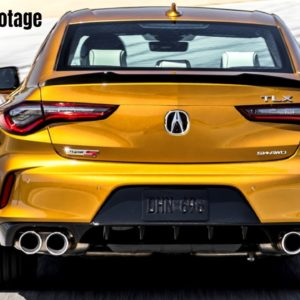 2021 Acura TLX Type S at The Race Track