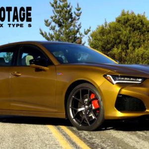 2021 Acura TLX Type S in Tiger Eye Pearl 4K Footage