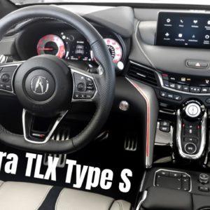 2021 Acura TLX Type S Interior Tour