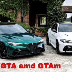 Alfa Romeo Giulia GTA amd GTAm Press Drive