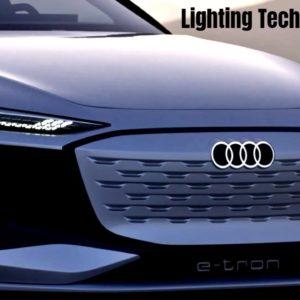 Audi A6 e-tron Concept Lighting Technology