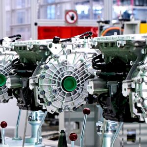 BMW 5th generation eDrive electric motor production factory
