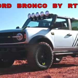 Custom Ford Bronco Four Door SUV by RTR