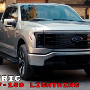 Electric Ford F150 Lightning 2022