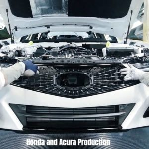 Honda and Acura Production in USA