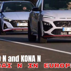 Hyundai N in Europe i20 N i30 N and KONA N Explained