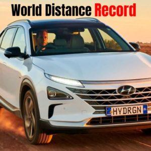 Hyundai NEXO Breaks World Distance Record