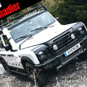 INEOS Grenadier Testing on Show Challenging Land Rover Defender