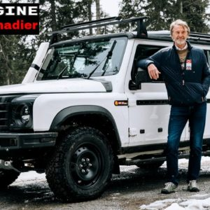 INEOS Grenadier with BMW engine taking on Land Rover Defender
