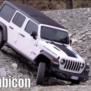 Jeep Wrangler 4xe Rubicon Off Roading