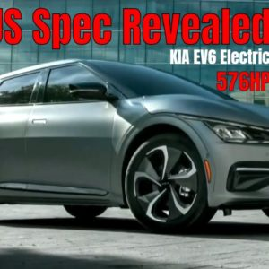 KIA EV6 Electric US Spec Revealed