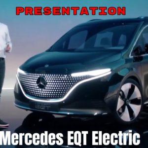 Mercedes EQT Electric Van Presentation