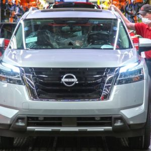 New 2022 Nissan Pathfinder Production Factory