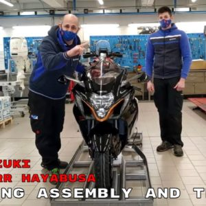 New 2022 Suzuki GSX1300RR Hayabusa Unboxing Assembly and Testing