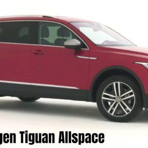 New 2022 Volkswagen Tiguan Allspace in Red