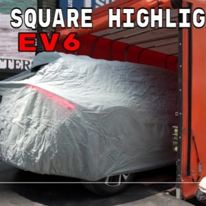 New Kia EV6 electric car in Times Square Highlights
