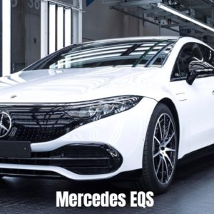 New Mercedes EQS 2022 Production Factory in Germany