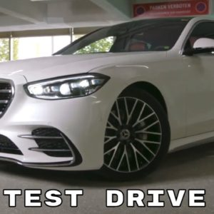 New Mercedes S Class S500 Test Drive