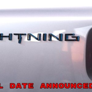 Official All Electric Ford F150 Name and Reveal Date Announced