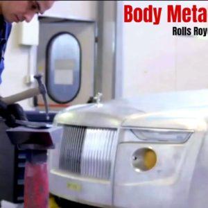 Rolls Royce Boat Tail Body Metalwork