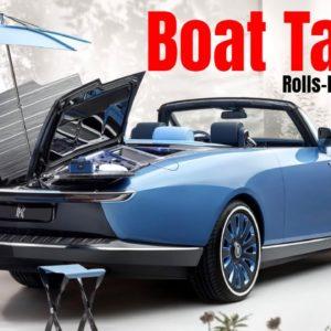 Rolls Royce Boat Tail Revealed