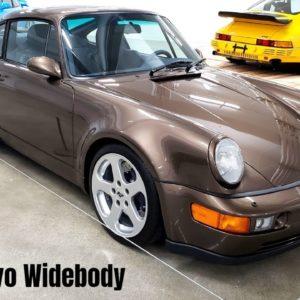RUF 964 RCT Evo Widebody based on the Porsche 964