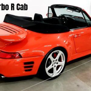 RUF Turbo R Cab based on the Porsche 993