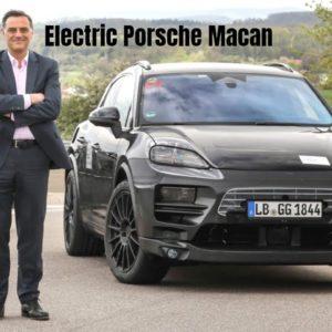 The Electric New Porsche Macan Development