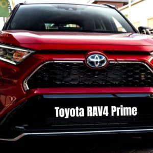 The New and Fast 2021 Toyota RAV4 Prime