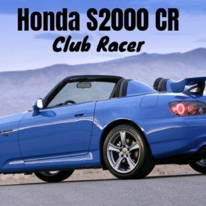 Track Focused Honda S2000 CR Club Racer