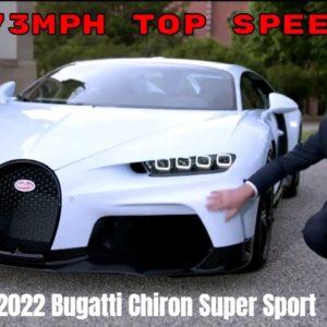 2022 Bugatti Chiron Super Sport Presentation