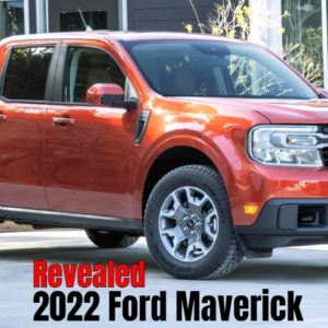 2022 Ford Maverick Compact Truck Revealed