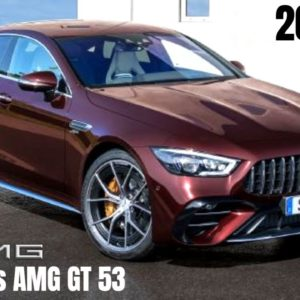 2022 Mercedes AMG GT 53 4 Door Coupe 4MATIC+ in Rubellite Red