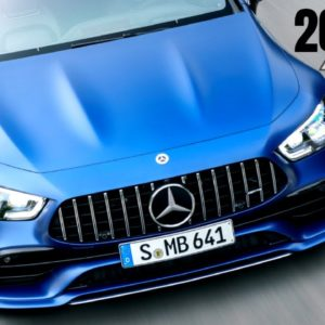 2022 Mercedes AMG GT 53 4 Door Coupe 4MATIC+ in Spectrale Blue Magno