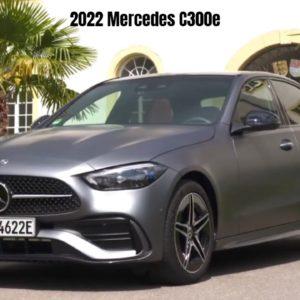 2022 Mercedes C300e C-Class Sedan