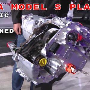 2022 Tesla Model S Plaid Electric Motor Explained By Elon Musk