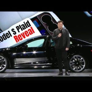 2022 Tesla Model S Plaid Reveal