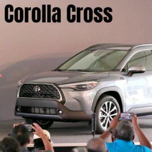 2022 Toyota Corolla Cross Showcase