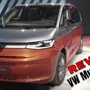 2022 VW Multivan T7 Reveal - Volkswagen