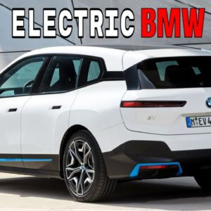 All Electric BMW iX SUV Future of Mobility